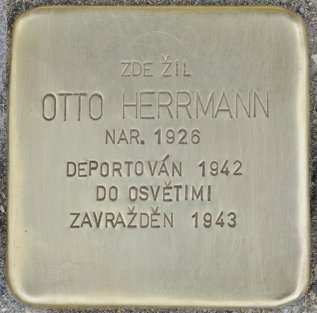 Stolperstein für Otto Herrmann (Slatiňany).jpg