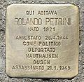 Stolperstein für Rolando Petrini.JPG
