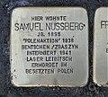 Stolperstein für Samuel Nussberg, Barbarossastraße 55, Chemnitz.JPG