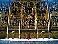 Strängnäs domkyrka, altarskåp vid högaltaret från 1480–1490, detalj, 2019a.jpg