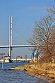 Stralsund, Strelasundquerung, Ziegelgrabenbrücke und Rügenbrücke, 4 (2012-01-26) by Klugschnacker in Wikipedia.jpg