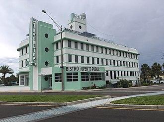 NASCAR - The Streamline Hotel in Daytona Beach, Florida, where NASCAR was founded