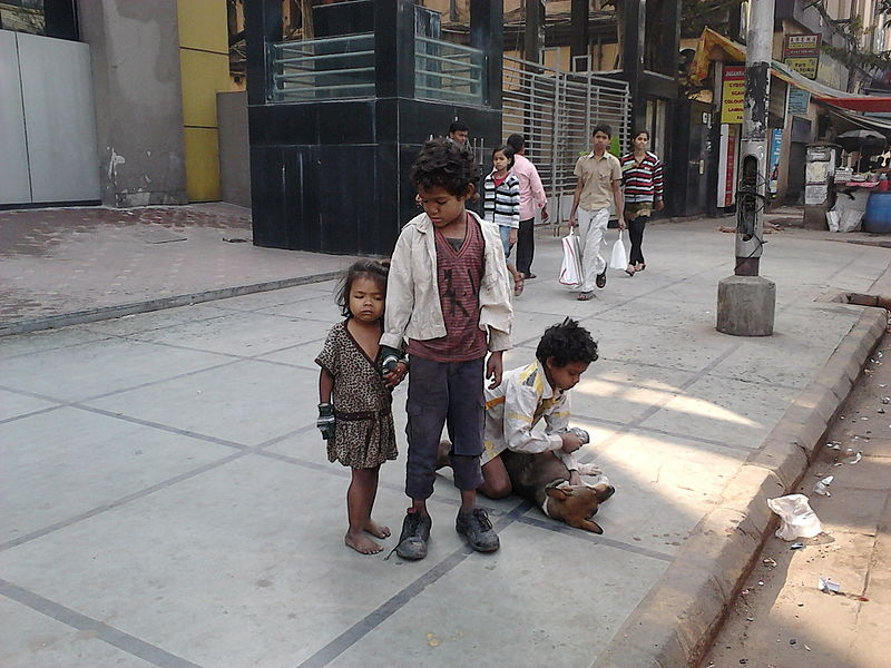 File:Street Children & Dog - Kolkata 2012-01-28 00988.jpg