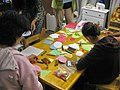 Students using early childhood art materials.jpg