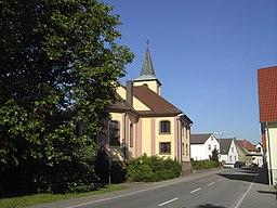 Stutensee Spoeck evang Kirche