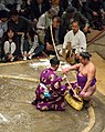 Sumo bow-twirling ceremony May 2014 001.jpg