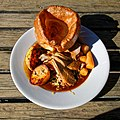 Sunday roast lamb at Black Horse Inn, Nuthurst West Sussex England.jpg