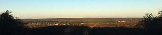 North Attleborough, Massachusetts - Panoramic view from the summit of Sunrise Hill.
