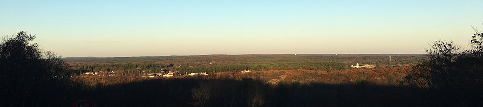 Sunrise Hill view in North Attleboro