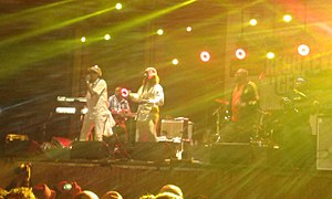 Performance of Super Cat at Reggae Geel 2015