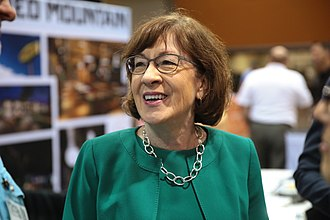 Susan Collins - Collins at the 2018 Small Business Expo in Phoenix, Arizona