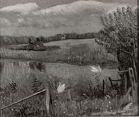 Swan Pond, Bellport, Long Island