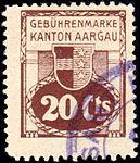 Switzerland Aargau 1913 Revenue 20c - 10B.jpg