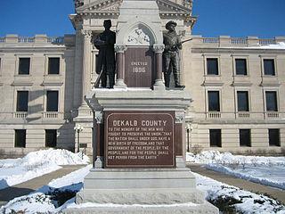 Civil War Memorial (Sycamore, Illinois) memorial in Sycamore, Illinois, United States