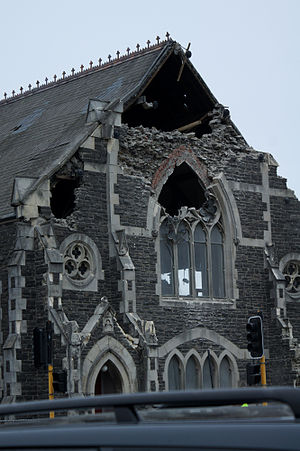 Sydenham Heritage Church - Quake damage
