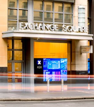 Australian Securities Exchange - Sydney Exchange Square entrance