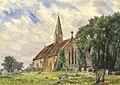 Sydney John Bunney - 1920 Watercolour, Baginton.jpg
