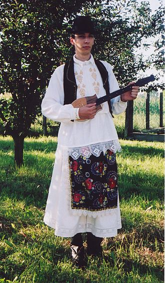 Bosniaks (Croats in Hungary) - Image: Szajci