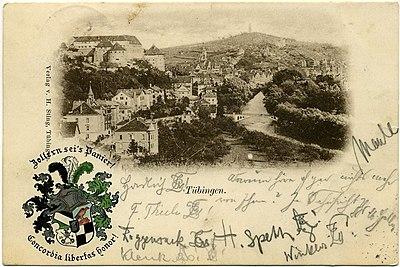 Tübingen. Blick von Westen (AK H Sting 1900).jpg