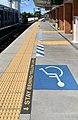 Tactile paving at Graceville railway station, Australia.jpg