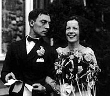 Buster keaton sposa Natalie Talmadge 31 maggio 1921