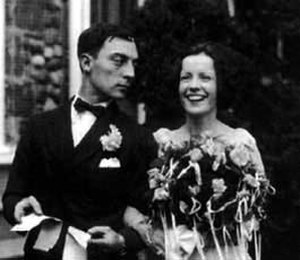 Natalie Talmadge - Talmadge and Buster Keaton on their wedding day, May 31, 1921
