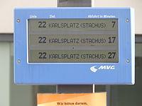 Tamnzeigetafel in München.JPG