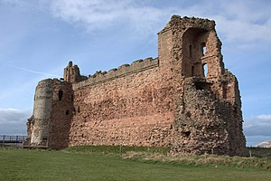 Earl of Douglas - Tantallon Castle, built by the 1st Earl of Douglas, and held by the Red Douglases from 1389 until 1699