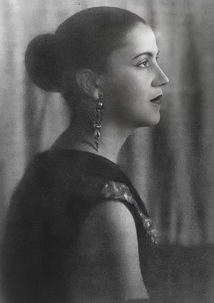Tarsila do Amaral - Photograph of Tarsila do Amaral, ca. 1925