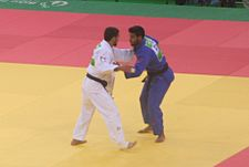 Tatalashvili (GEO) vs Muki (ISR) at the gold final of the 2015 European Games 2.jpg