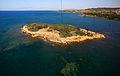 Tavşan Adası (Aydın) from the south.jpg