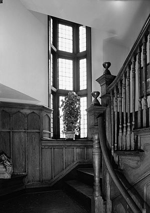 Dr. Henry Genet Taylor House and Office - Image: Taylor Stair
