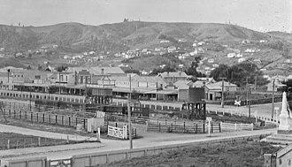 Te Kuiti railway station - Image: Te Kuiti 1917