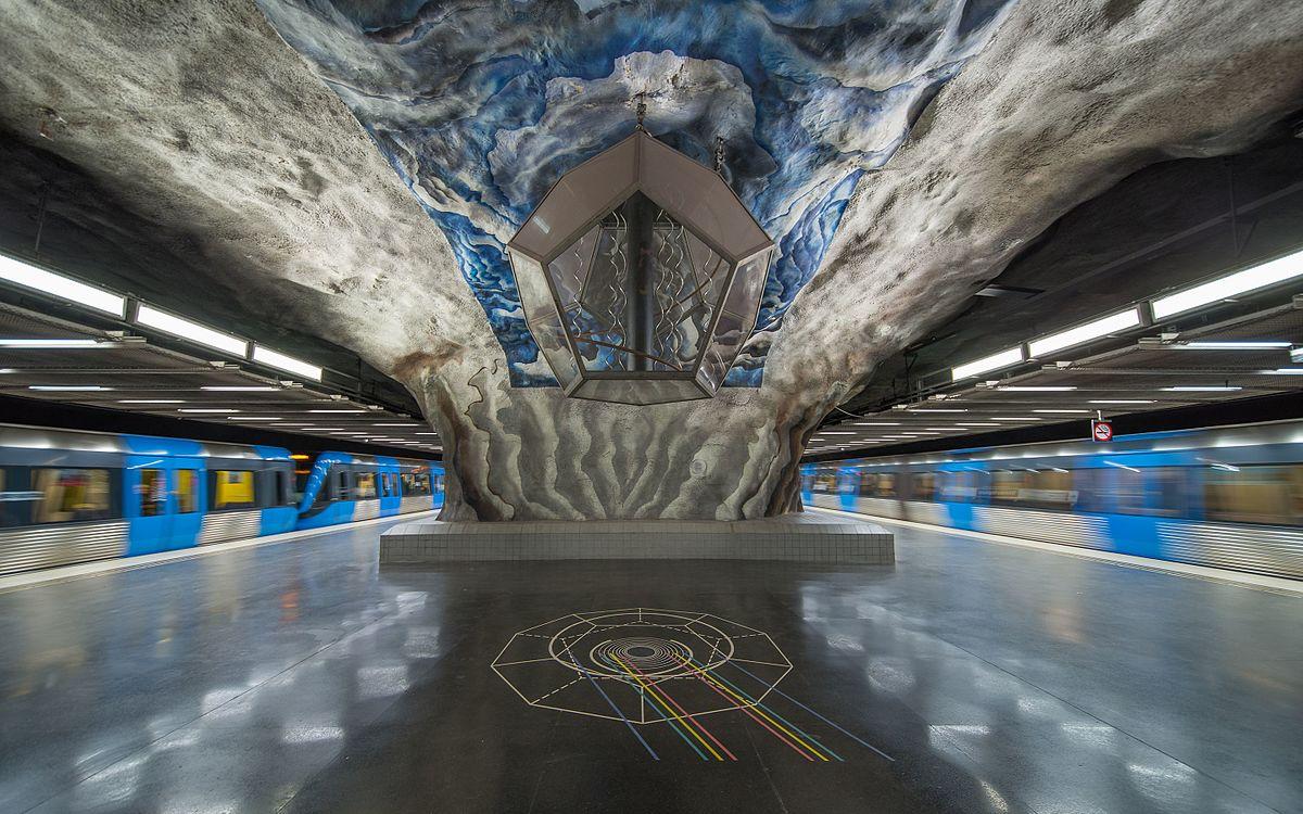 Tekniska H 246 Gskolan Tunnelbanestation Wikipedia