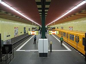 Berlin-Tempelhof station - U-Bahn station