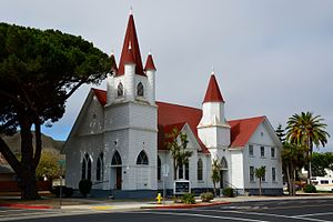 Lompoc, California - Temple Baptist Church, Lompoc