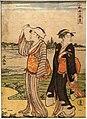Ten Summer Scenes in Edo (Sumidagawa), by Torii Kiyonaga, Japan, Edo period, 1700s AD, woodblock print on paper - Tokyo National Museum - Tokyo, Japan - DSC09263.jpg