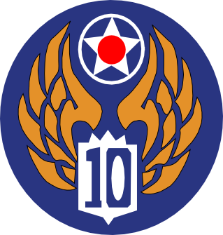 Tenth Air Force - Emblem (World War II)