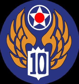 Tenth Air Force - 10th Air Force USAAF emblem