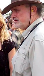 Terrence Malick at the Austin City Limits Music Festival in September 2011.