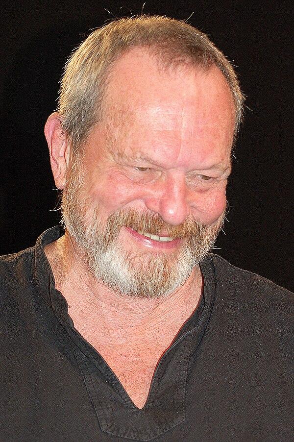 Photo Terry Gilliam via Wikidata