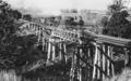 Testing of the Boundary Creek Bridge, Wallaville, 1920.tiff