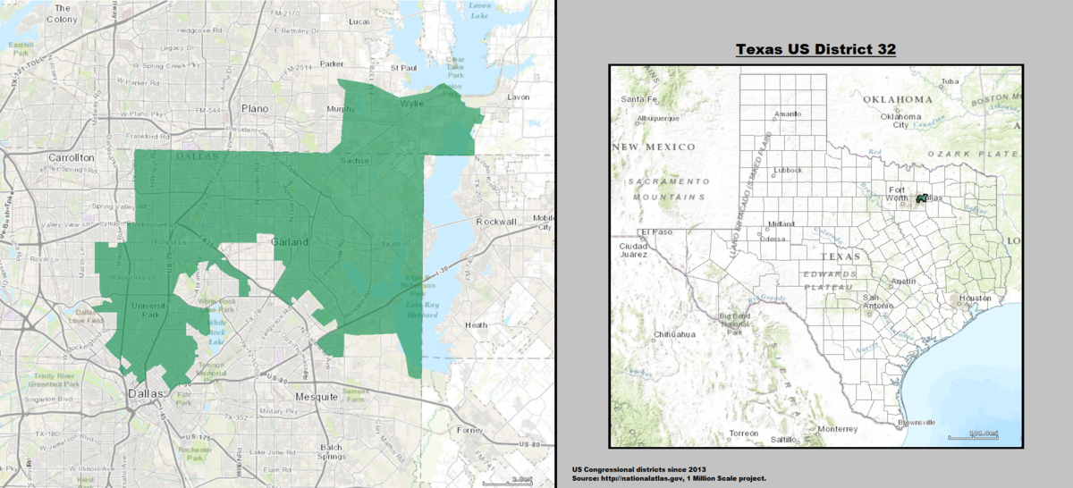 Texass Nd Congressional District Wikipedia - Us house district 13 map