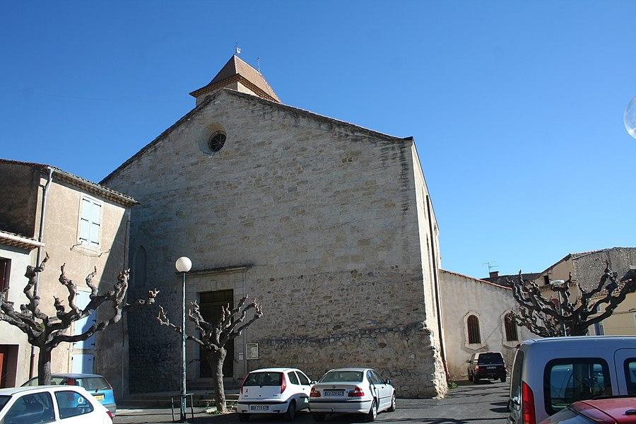 Thézan-lès-Béziers (Hérault) - église Saints-Pierre-et-Paul