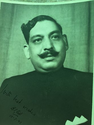 Dan Singh Bisht - Picture from TDSB found by his family in Bisht Estates