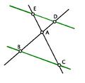 Thales theorem vert papillon.PNG