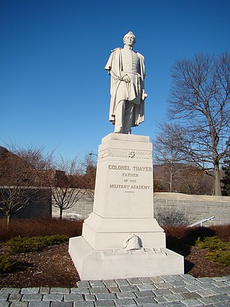 United States Military Academy - Thayer monument