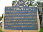 Princes' Gates Plaque