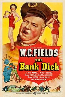 <i>The Bank Dick</i> 1940 American film starring W. C. Fields