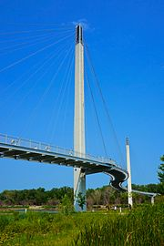 The Bob Kerrey Pedestrian Bridge